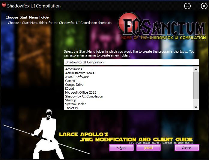 Larce's SWG modification & client guide  - Your SWGEmu
